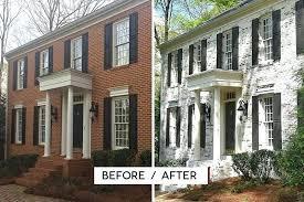 house makeover limewash brick brick exterior plans a full exterior brick house
