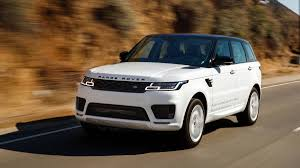 white range rover sport 2019 range rover and sport p400e first drive electric rangie