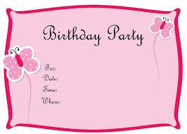 25 unique birthday invitation card template ideas on