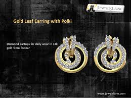 daily wear diamond earrings get the most beautifully designed gold earrings online