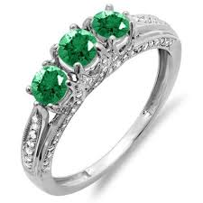 green rings images 23 stunning antique natural emerald rings ring to perfection jpg