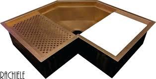 Kitchen Sink Copper Kitchen Corner Sinks Copper Corner Workstation Sink Corner Kitchen
