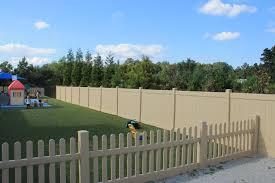 pvc fence viny atlanta company silverbell picket style with