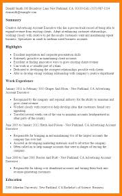 resume for accounts executive account executive resume account executive resume samples
