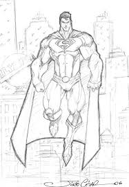 drawn cubism superman pencil and in color drawn cubism superman