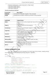 Asp Net Resume Sample by Tybsc It Asp Net Full Unit 1 2 3 4 5 6 Notes
