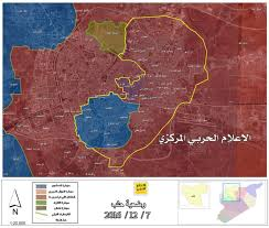 Raqqa Syria Map hezbollah u0027s military media c military1 shows latest map of aleppo