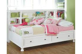 Bookcase Storage Bed Kaslyn Twin Bookcase Bed Ashley Furniture Homestore