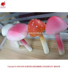 2015 new products home decor products artificial mushroom wedding