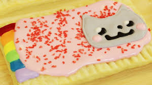 how to make homemade nyan cat poptarts nerdy nummies youtube