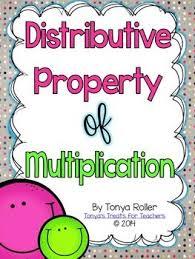 best 25 distributive property of multiplication ideas on