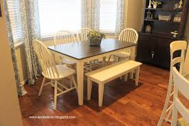 staining a table top texas decor painted and stained kitchen table a tutorial