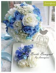 theme wedding bouquets best 25 blue roses wedding ideas on blue big wedding
