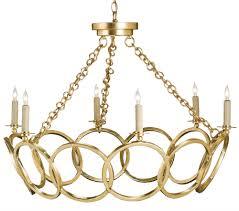 Gold Leaf Chandelier Orli Chandelier Lighting Currey And Company