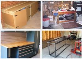 Work Bench Design 7 Workbench Ideas For Garage Integrated Home Design Development