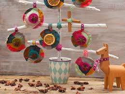 advent diy day 22 scented ornaments by jolijou etsy