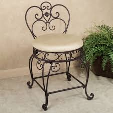 Chair For Bathroom Vanity by Aldabella Tuscan Slate Upholstered Vanity Chair