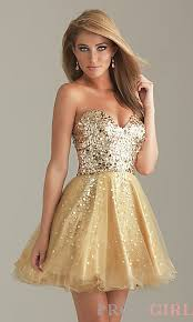 gold party dress gold party dress by 6498 at promgirl