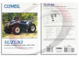 1987 1998 suzuki lt 4wd runner repair manual clymer m483 2