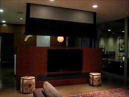 Home Theater Design Los Angeles Los Angeles Media Room With Motorized Home Theater Screen Youtube