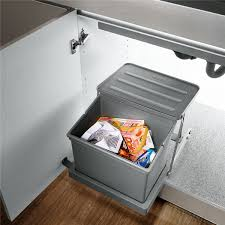 Kitchen Cabinet Waste Bins by Op Wt006a Automatic Sink Cabinet Waste Bin