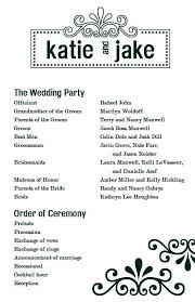 one page wedding program template one page event program template template s