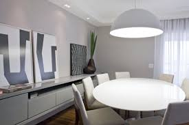 modern dining room wall decor ideas classy design white hang lamp