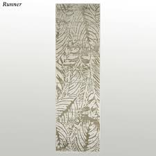Palm Tree Runner Rug Tropical Palm Leaf Imprint Area Rugs