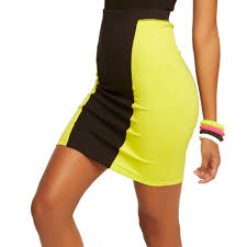 nicki minaj women u0027s knit pencil skirt colorblock