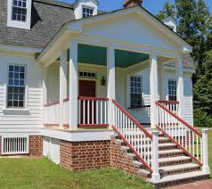 Covered Porch Pictures Colonial House Part 8 Gracefield Hall L L C