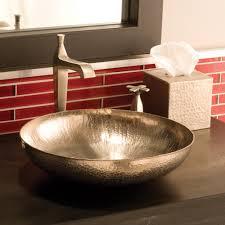 maestro sonata petit copper bathroom vessel sink native trails