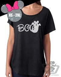 glitter disney halloween shirt boo mickey ghost tri blend