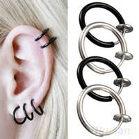 types of earrings for men clip on earrings for guys mens clip on earrings ebay trendearrings
