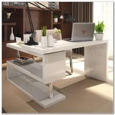 White High Gloss Computer Desk by High Gloss Computer Desk White Desk Interior Design Ideas