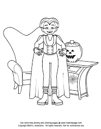 halloween vampire coloring pages pictures of halloween stuff many interesting cliparts