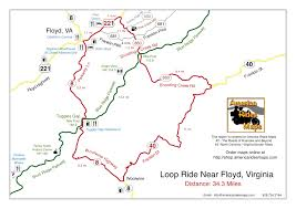 Map Of Pigeon Forge Tennessee by Smoky Mountain Motorcycle Rider