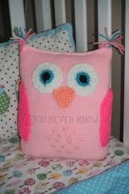 Knitted Cushions Free Patterns Best 25 Crochet Owl Pillows Ideas Only On Pinterest Crocheted