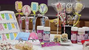 Youtube Baby Shower Ideas by Rice Krispie Treat Sheets Youtube