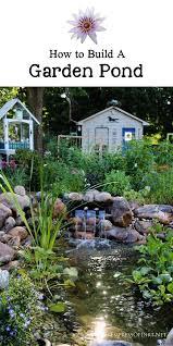 Build Backyard Pond 901 Best Ponds Images On Pinterest Garden Ideas Backyard Ponds