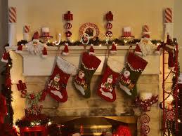 christmas traditional christmas decorations mantel decorating