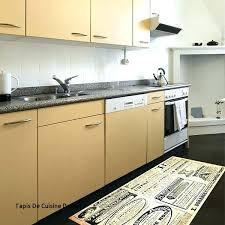 tapis pour cuisine tapis decor with tapis cuisine design tapis pour cuisine design