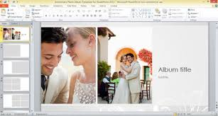 anniversary album anniversary photo album template for powerpoint 2013