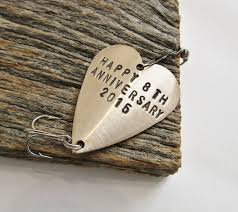 8th anniversary gifts for eighth anniversary gift for 8th wedding anniversary bronze