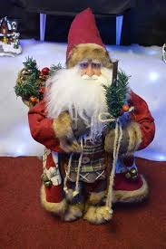 Christmas Decorations Large Santa Claus by Delux Father Christmas Santa Claus Standing Figure Xmas Decoration