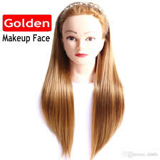 22 mannequin head hair yaki synthetic maniqui hairdressing doll