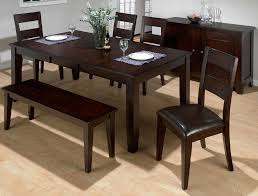 dining room set with bench classic dining room design with 6 bench