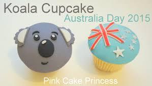 Christmas Cake Decorations Australia by Koala Cupcake How To By Pink Cake Princess For Australia Day 2015