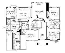 european style house plan 5 beds 4 5 baths 3525 sq ft plan 927 floor plan upper floor plan