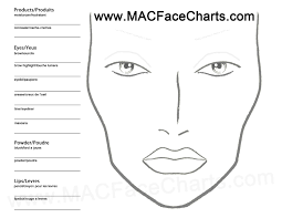 use this face chart to create your own looks don u0027t forget to mark