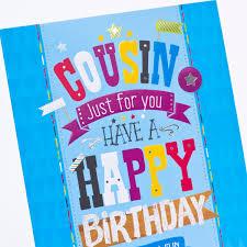cousin birthday card birthday card for cousin card design ideas